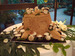 Belgian Chocolate Tree Stump with Meringue Mushroom Wedding Torte